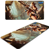 League of Legends Caitlyn Gaming Mousepad