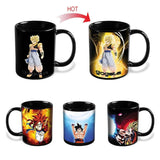 Dragon Ball Z Goku Heat Reactive Mug