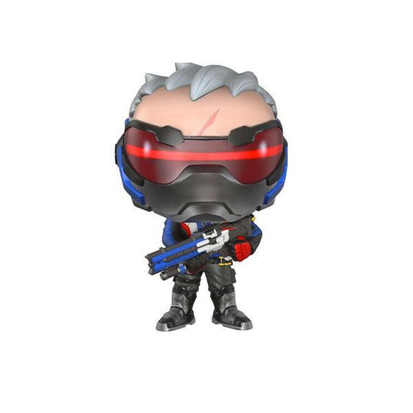 *FREE* Overwatch Soldier 76 Pop Figure - w/o Packaging