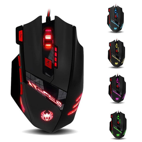ZELOTES T-90 8-Button 9200DPI Gaming Mouse