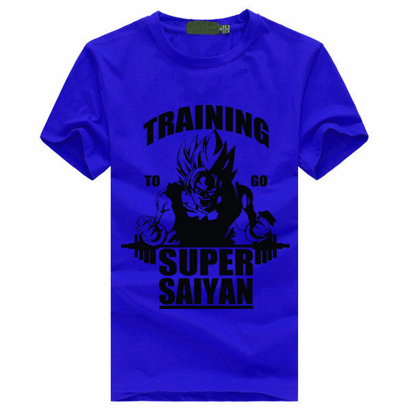Training to go Super Saiyan T-Shirt <strong> (Free Shipping) </strong>