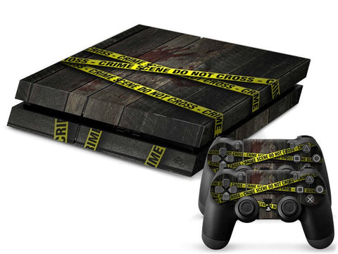 PlayStation 4 Skin - Crime Scene