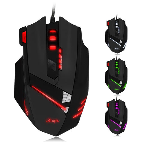 ZELOTES T-60 7-Button 7200DPI Gaming Mouse