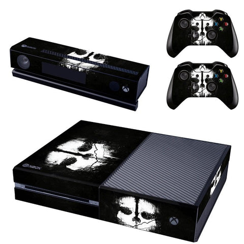 Microsoft Xbox One and Kinect Skin - Divided Skull