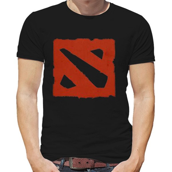 Dota 2 Logo T-Shirt - Black
