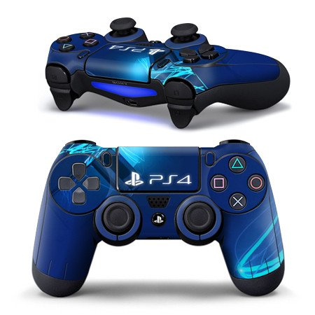 PlayStation 4 Controller Skins - Blue Theme