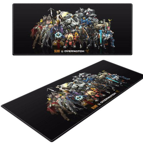 overwatch heroes mousepad