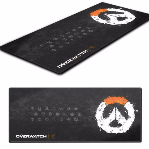overwatch gaming mouse pad