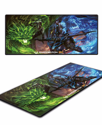 Hanzo and genji mousepad
