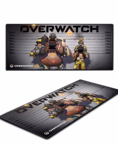 Junkrat and roadhog mousepad