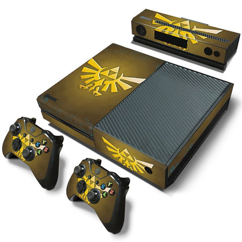 Microsoft Xbox One and Kinect Skin - The Legend of Zelda