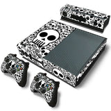 Microsoft Xbox One and Kinect Skin - Black and White Skulls