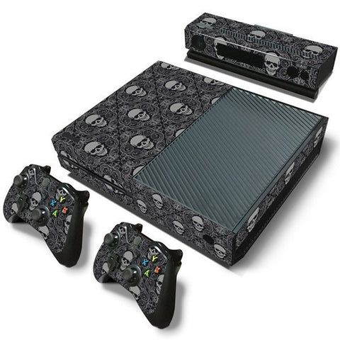 Microsoft Xbox One and Kinect Skin - Skull Pattern