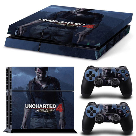 PlayStation 4 Skins - Uncharted 4