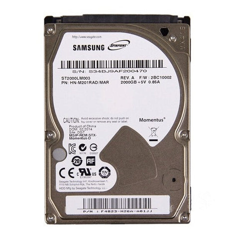 2TB Hard Drive For Xbox One and PlayStation 4