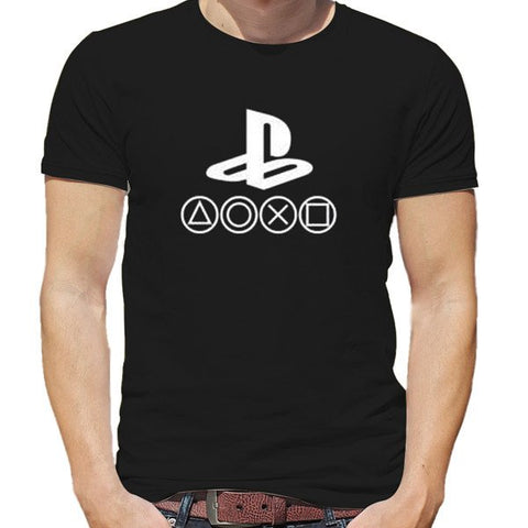 PlayStation Logo Round Neck T-Shirt
