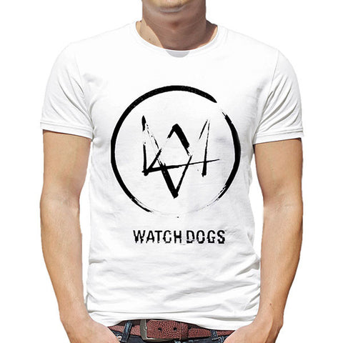 Watch Dogs Unisex Round Neck T-Shirt