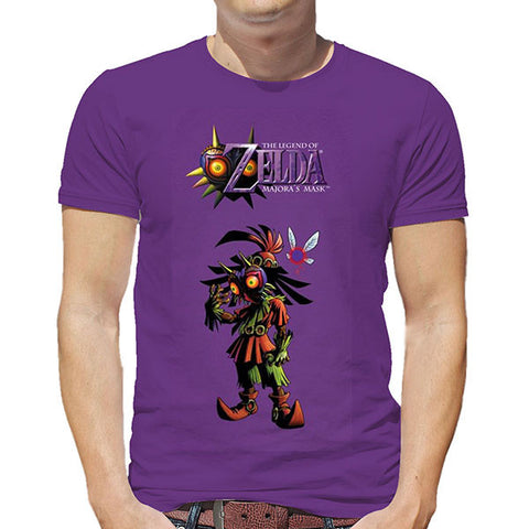 The Legend of Zelda Majoras Mask T-Shirt For Men