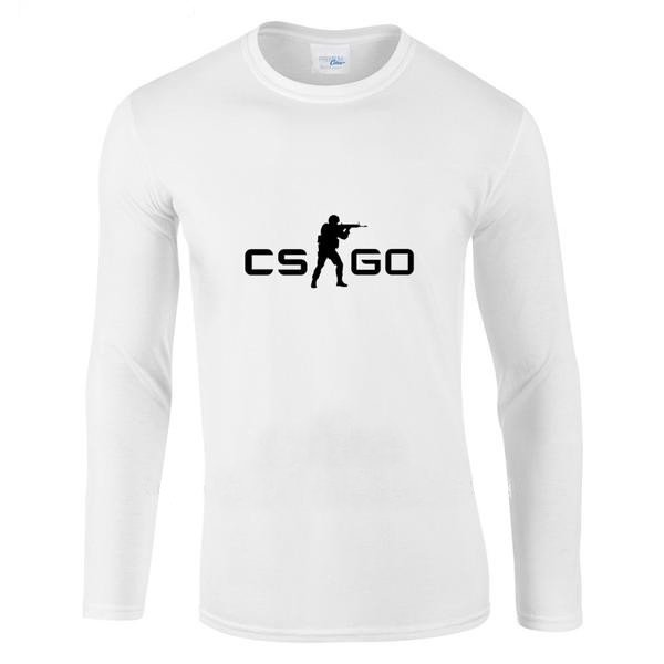 CS:GO Logo Full Sleeves Shirt