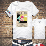 One Piece Sanji Wanted Poster T-Shirt