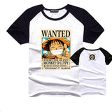 One Piece Luffy Wanted Poster T-Shirt