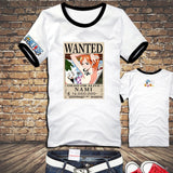 One Piece Nami Wanted Poster T-Shirt