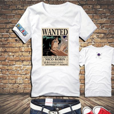 One Piece Nico Robin Wanted Poster T-Shirt