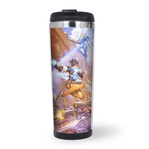 overwatch tracer water bottle