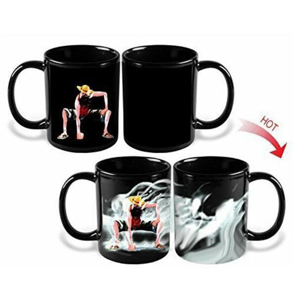 One Piece Heat Sensitive Mug - Monkey D. Luffy