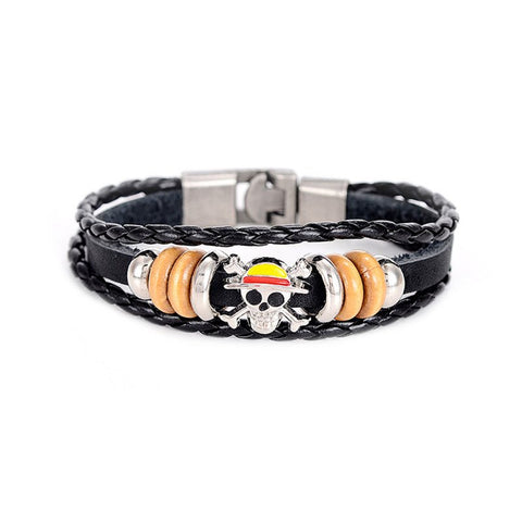 One Piece Leather Wristband