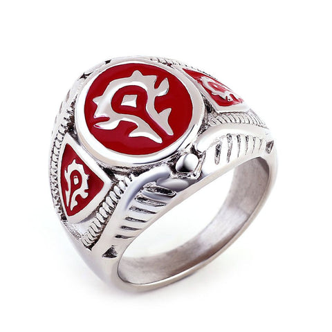 Horde World of Warcraft Ring
