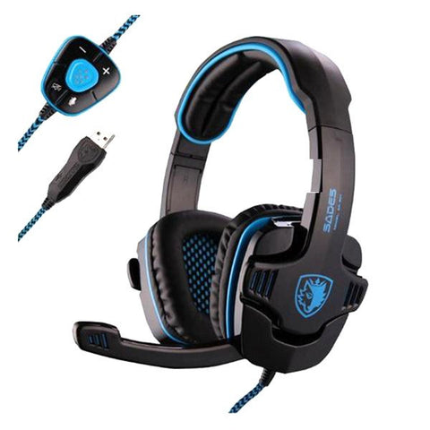 Sades SA-901 7.1 Surround Gaming Headset