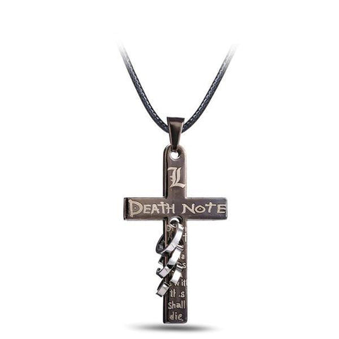 Death Note Pendant Necklace