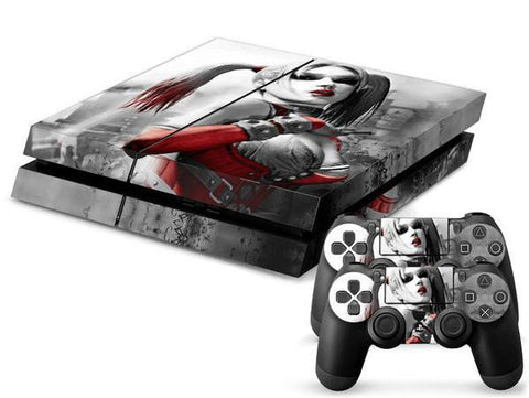 PlayStation 4 Skins - Harley Quinn