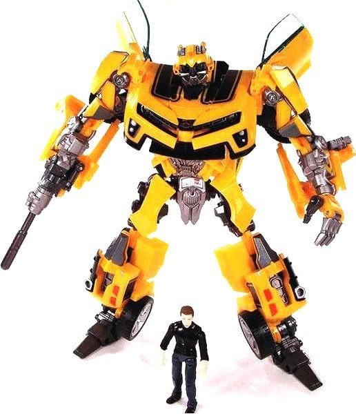 Transformers Bumblebee and Sam Action Figure