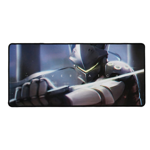 overwatch genji mousepad