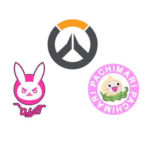 Overwatch Stickers Bundle