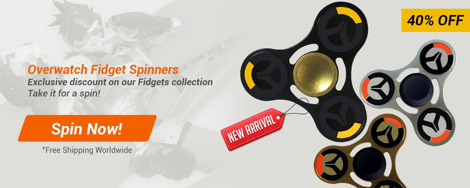Overwatch Fidget Spinner
