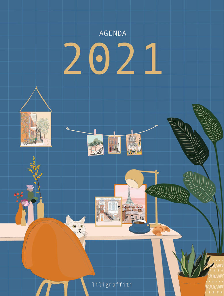 A planner by Liligraffiti for 2021