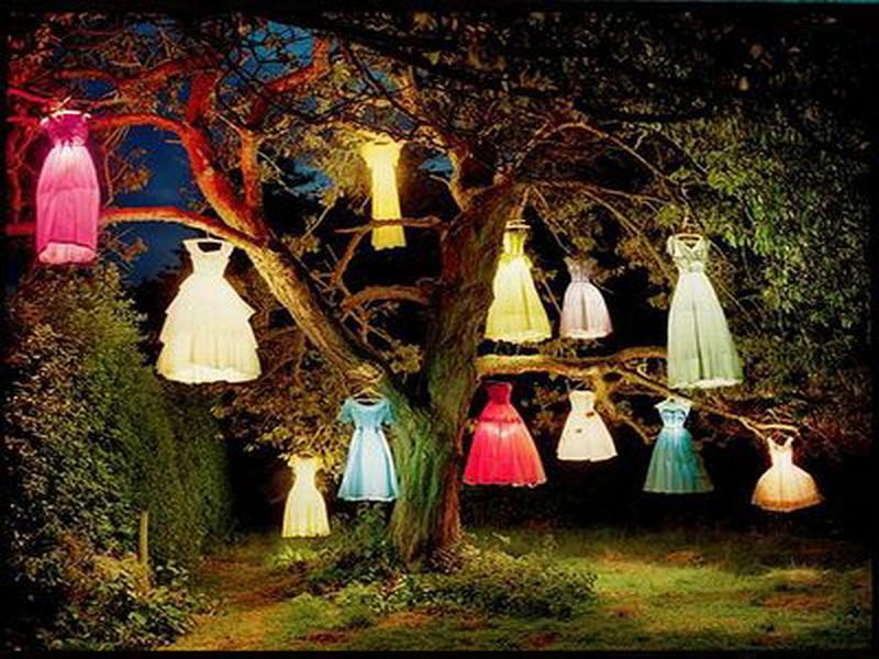decoration-wonderful-halloween-decorations-ideas-home-decor-ideas-with-colorful-hanging-lighting-in-the-tree-smart-idea-homemade-halloween-decorating-ideas