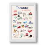 Toronto in 26 letters