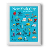 New York City in 26 letters