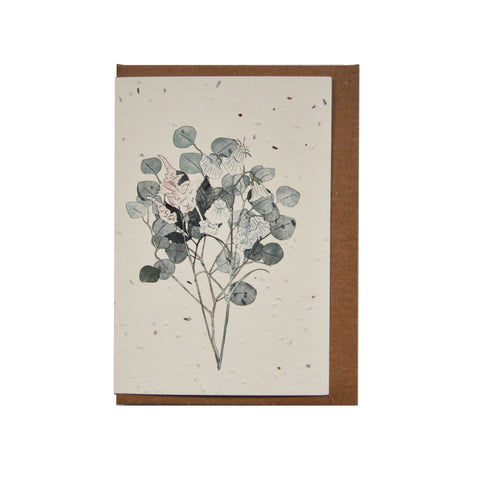 Plantable seed card - Botany