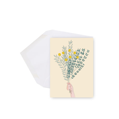 Bouquet - mini carte