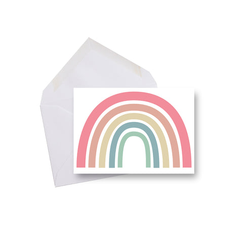 Merci Arc-en-ciel  - mini carte