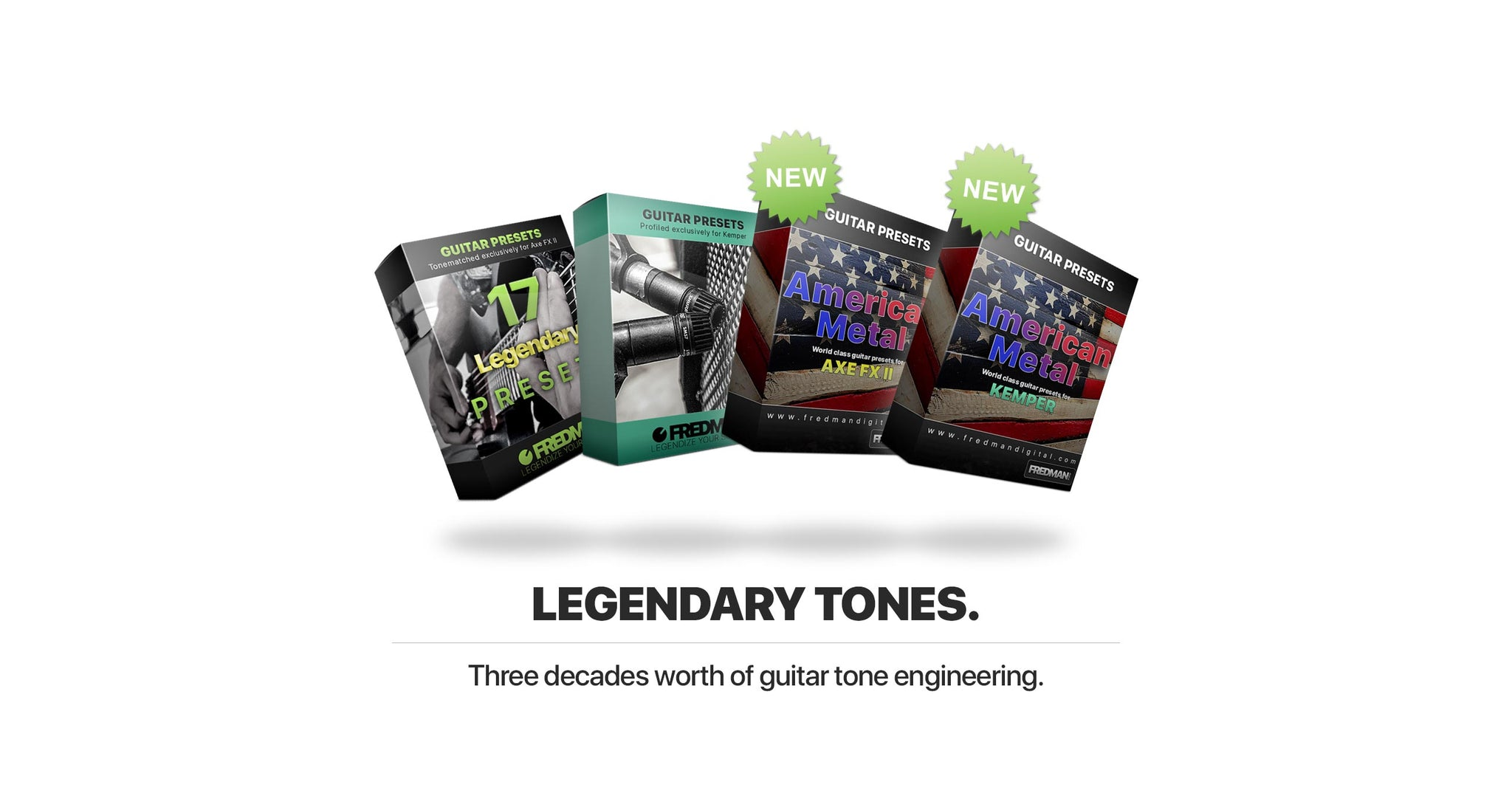 New presets for Axe FX & Kemper!