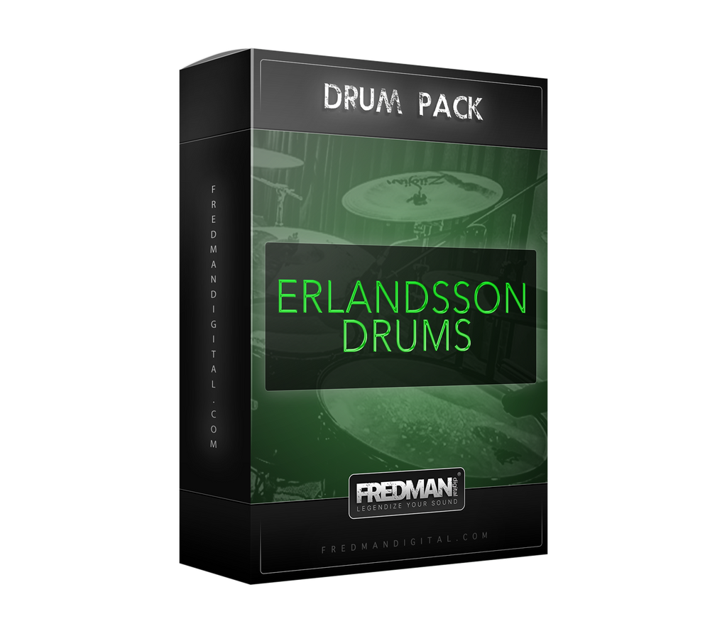 Erlandsson Drums - Fredman Digital