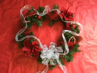 Regal Red Wreath