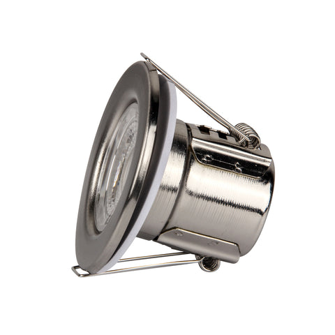 LED-spotlight 5W IP65 Nickel Dimbar Samsungchip - Ledimporten.eu