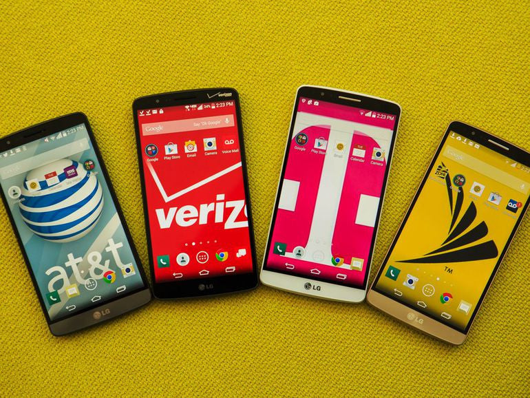 Differences between LG G3 Variations (D802, D855, F400)
